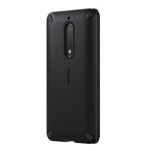 Originálne puzdro Nokia Rugged Impact CC-502 pre Nokia 5, Pitch Black 1A21M1C00VA