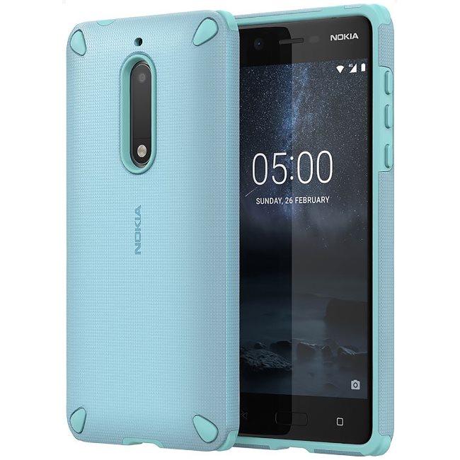 Originálne puzdro Nokia Rugged Impact CC-502 pre Nokia 5, Sage Mint 6438409002709