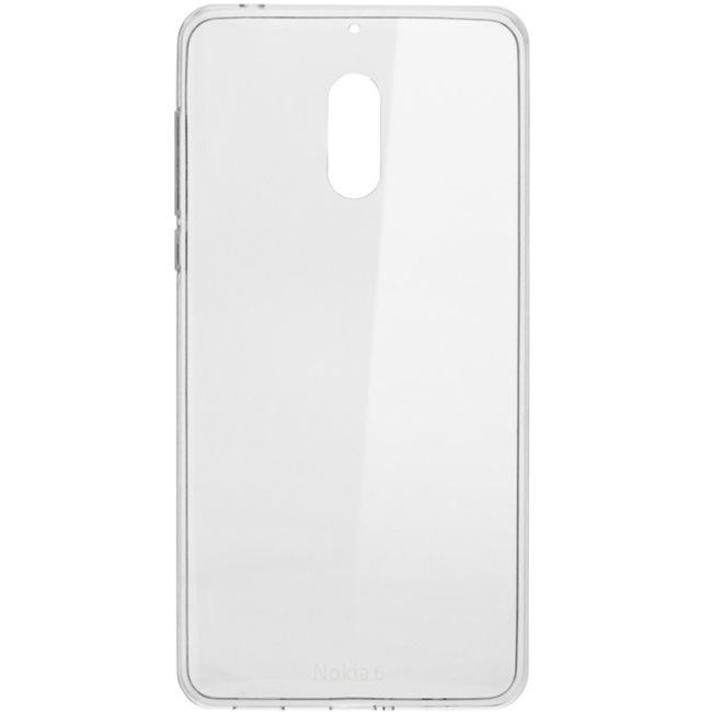 Originálne puzdro Nokia Slim Crystal CC-101 pre Nokia 6, Transparent 1A21M9900VA