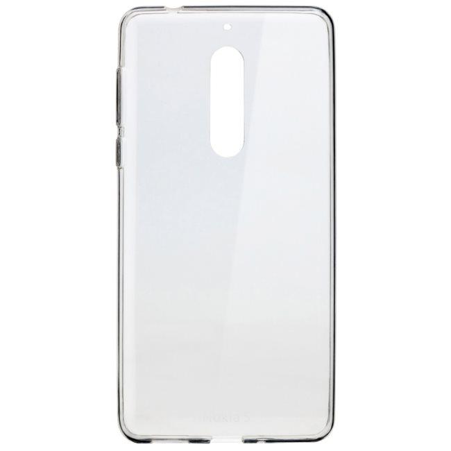 Originálne puzdro Nokia Slim Crystal CC-102 pre Nokia 5, Transparent 1A21M0H00VA