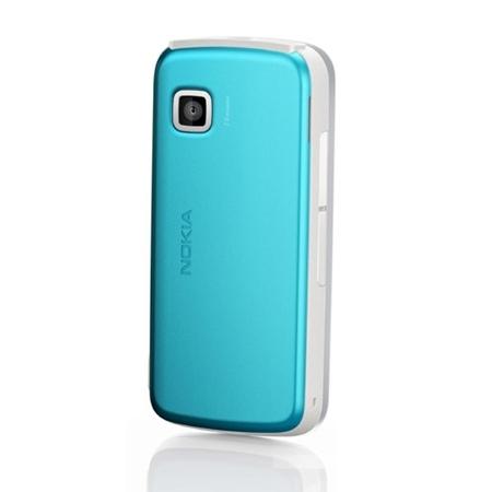 Originálny zadný kryt (kryt batérie) pre mobil Nokia 5230 | Modrý