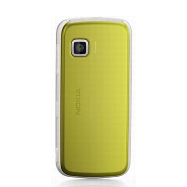 Originálny zadný kryt (kryt batérie) pre mobil Nokia 5230 | Žltý + Stylus
