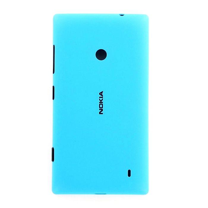 Originálny zadný kryt (kryt batérie) pre Nokia Lumia 520, Cyan