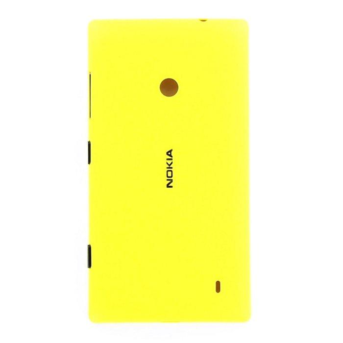 Originálny zadný kryt (kryt batérie) pre Nokia Lumia 520, Yellow