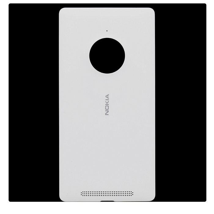 Originálny zadný kryt (kryt batérie) pre Nokia Lumia 830, White, vrátane NFC
