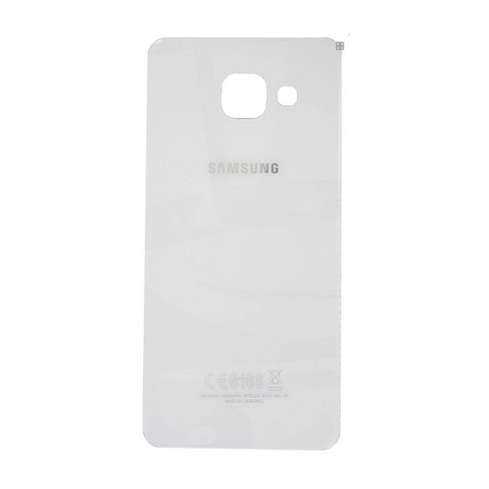 Originálny zadný kryt (kryt batérie) pre Samsung Galaxy A3 2016 - A310F, White