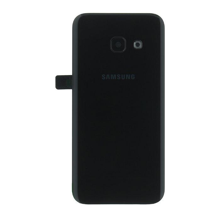 Originálny zadný kryt (kryt batérie) pre Samsung Galaxy A3 2017 - A320F, Black
