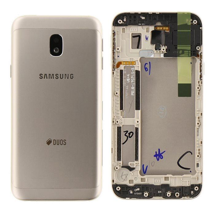 Originálny zadný kryt (kryt batérie) pre Samsung Galaxy J3 2017 - J330F, Gold