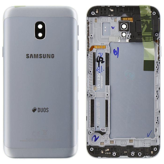 Originálny zadný kryt (kryt batérie) pre Samsung Galaxy J3 2017 - J330F, Silver
