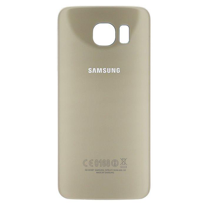 Originálny zadný kryt (kryt batérie) pre Samsung Galaxy S6 - G920F, Gold