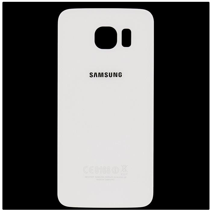 Originálny zadný kryt (kryt batérie) pre Samsung Galaxy S6 - G920F, White