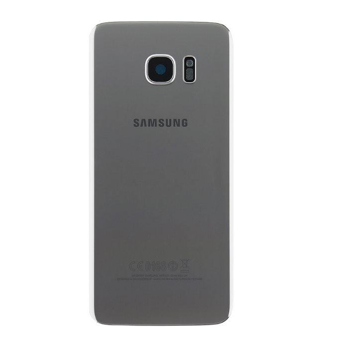 Originálny zadný kryt (kryt batérie) pre Samsung Galaxy S7 Edge - G935F, Silver
