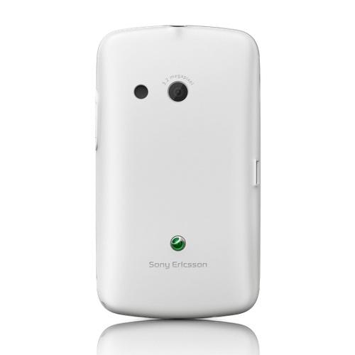 Originálny zadný kryt (kryt batérie) pre Sony Ericsson TXT CK13, White