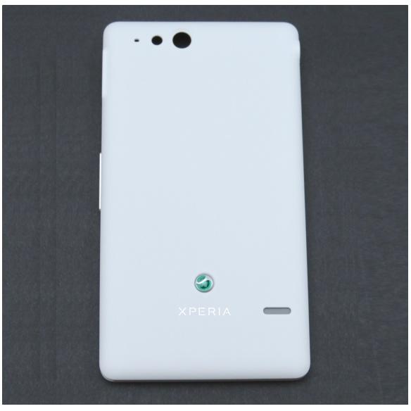 Originálny zadný kryt (kryt batérie) pre Sony Ericsson Xperia Go ST27, White