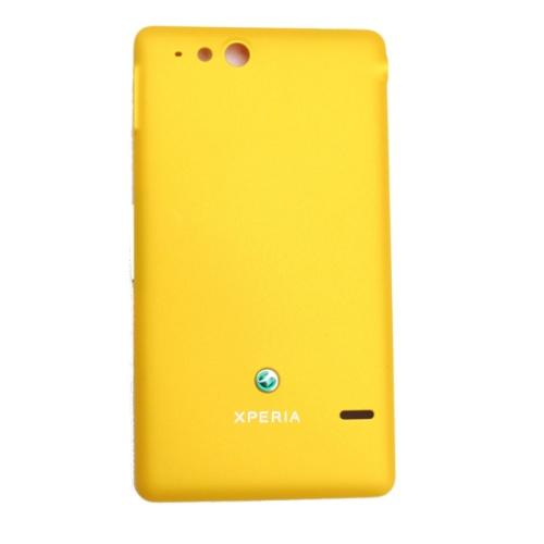 Originálny zadný kryt (kryt batérie) pre Sony Ericsson Xperia Go ST27, Yellow