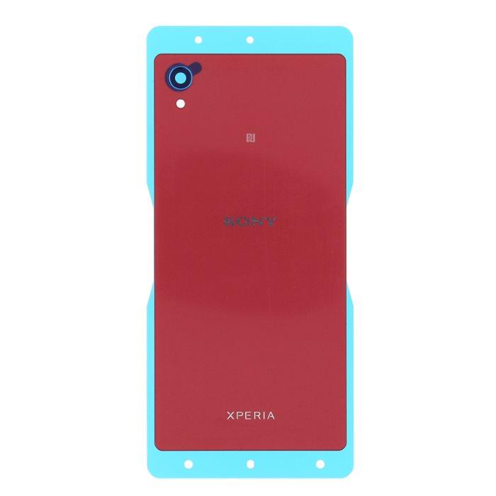 Originálny zadný kryt (kryt batérie) pre Sony Xperia M4 Aqua - E2303, Coral Red