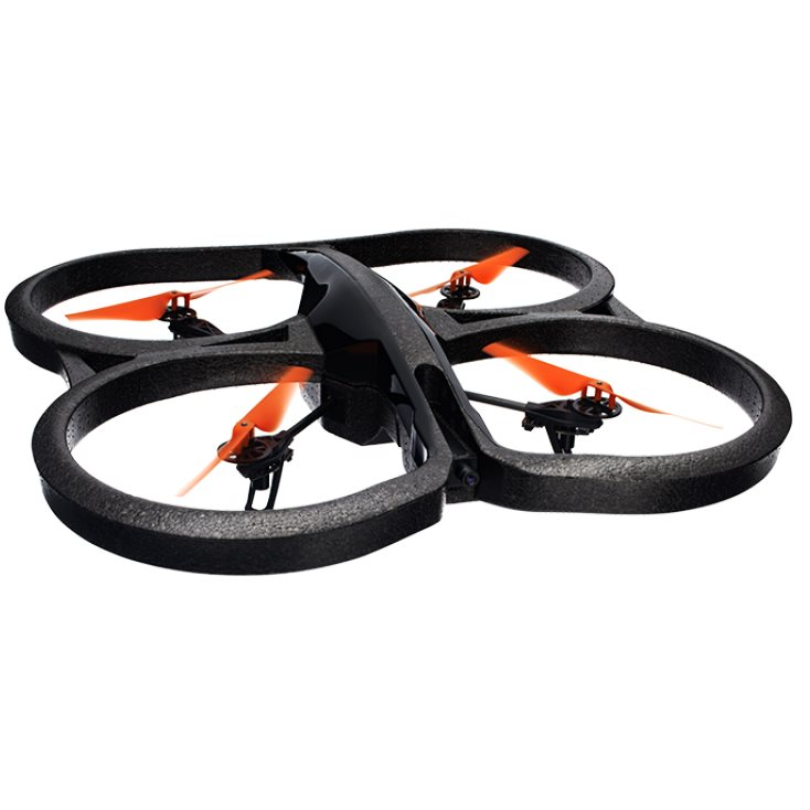 Parrot AR.Drone 2.0 Power Edition - kvadrikoptéra s HD kamerou, Orange