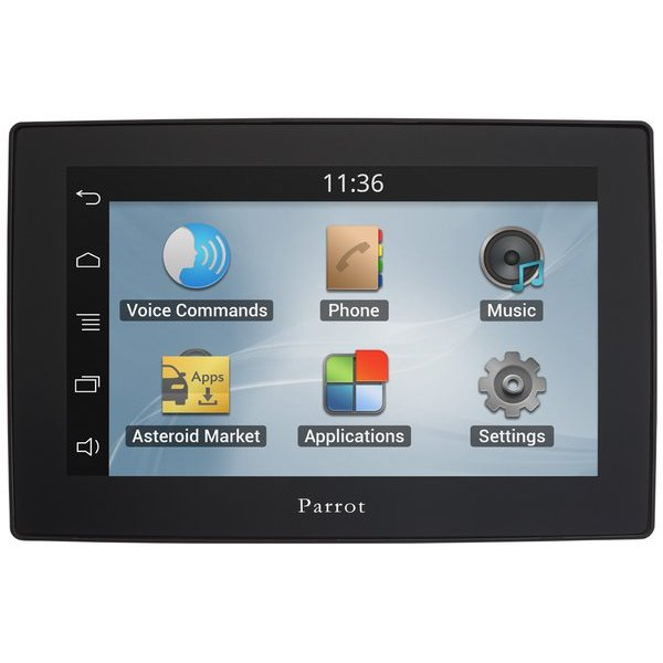 Parrot Asteroid Tablet - multimediálny Bluetooth Handsfree systém do auta (CZ)