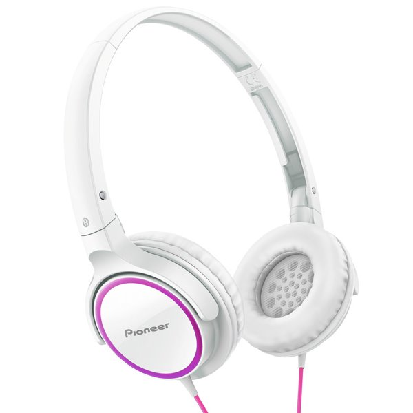 Pioneer SE-MJ512, Pure Sound, Pink and White