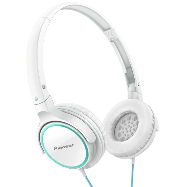 Pioneer SE-MJ512, Pure Sound, Turquoise and White