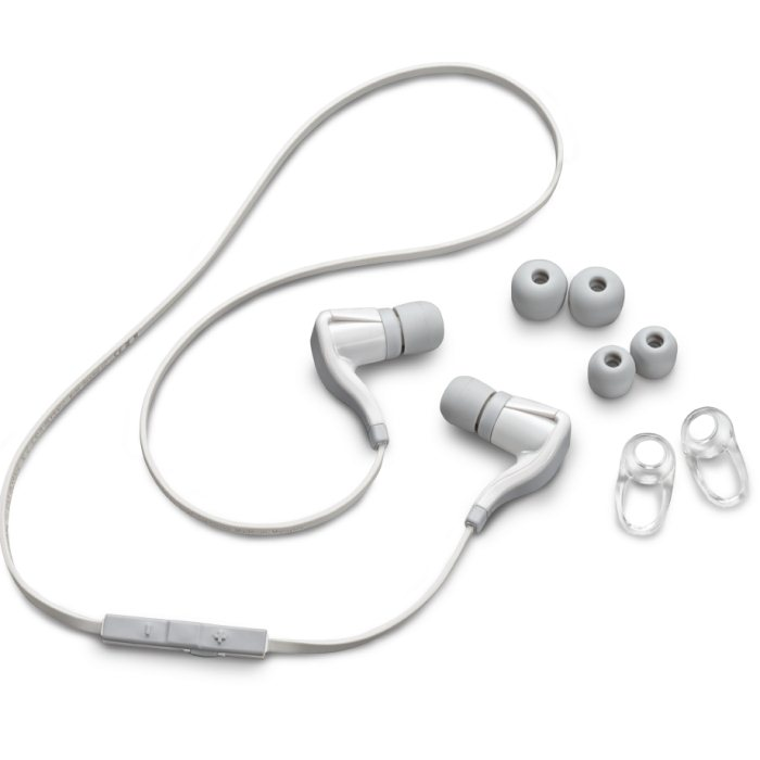 Plantronics Backbeat GO 2 - Bluetooth Stereo Headset, White