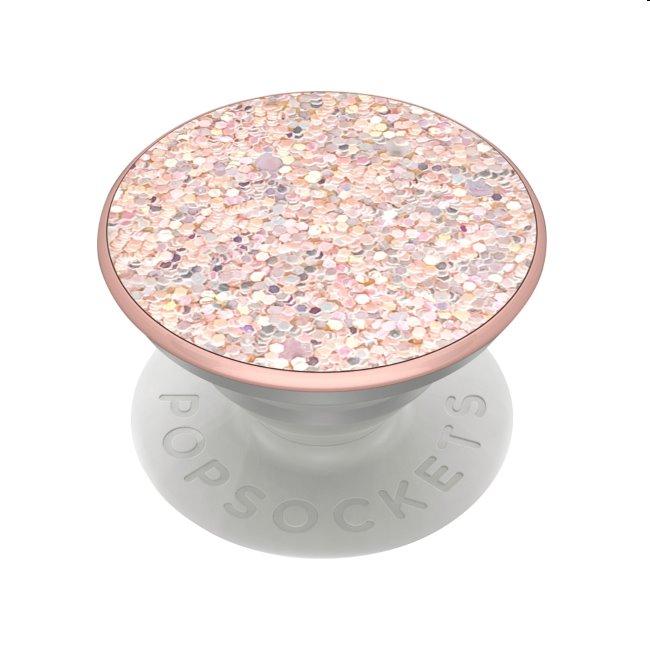 PopSockets univerzálny držiak PopGrip Sparkle Rose 800499