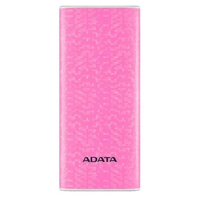 PowerBank A-Data - 10000 mAh, Pink (AP10000-DUSB-CPK) AP10000-DUSB-CPK