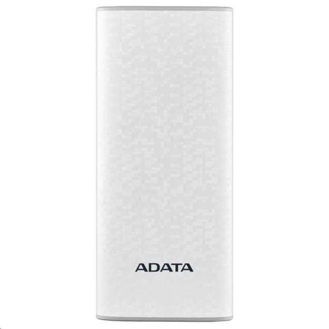 PowerBank A-Data - 10000 mAh, White (AP10000-DUSB-CWH) AP10000-DUSB-CWH