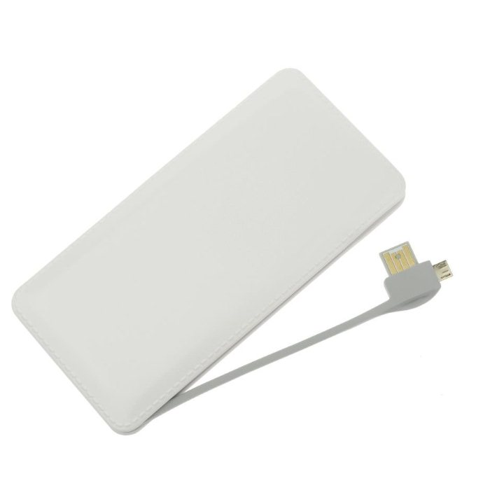 PowerBank Blue Star - 12 000 mAh, White