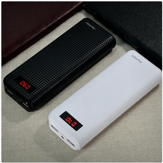 PowerBank iMyMax - 20 000 mAh, White