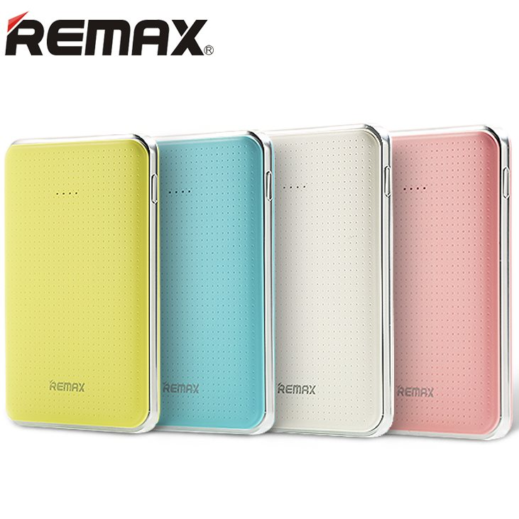 PowerBank Remax Tiger 5000 mAh, Pink