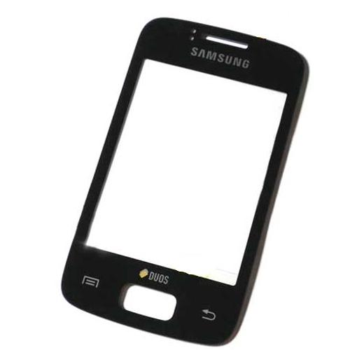 Predný kryt pre Samsung Galaxy Y Duos S6102, Black