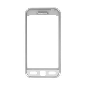 Predný kryt pre Samsung S5230 Star, White