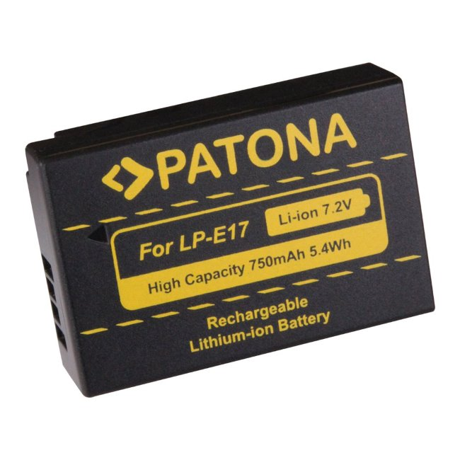 Prémiová batéria PATONA pre Canon LP-E17 - 750mAh, Li-Ion