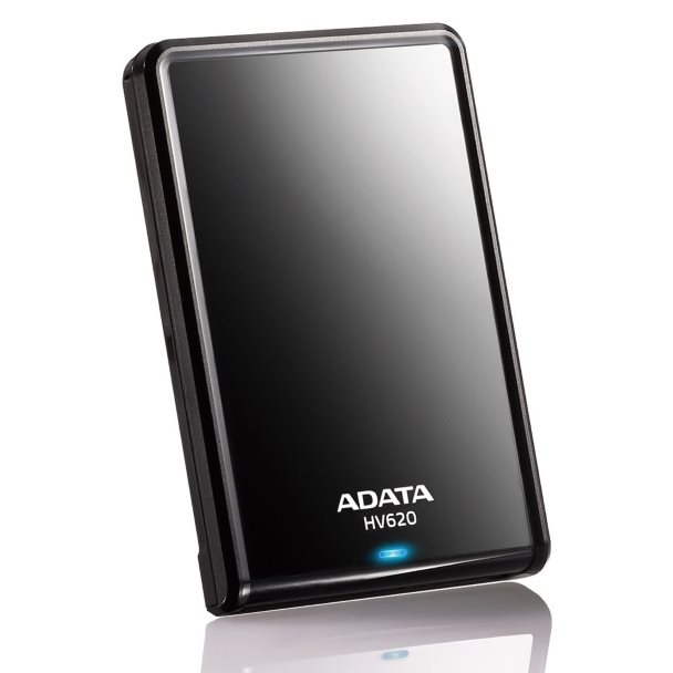 "Prenosný HDD A-DATA HV620 2.5"", 2000 GB, USB 3.0, Black"