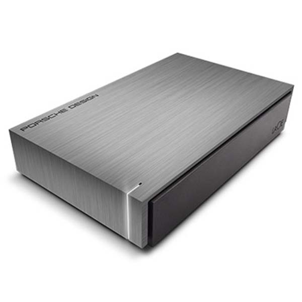 "Prenosný HDD LaCie Porsche Design Desktop  3.5"", 3000 GB, USB 3.0, Dark Grey"
