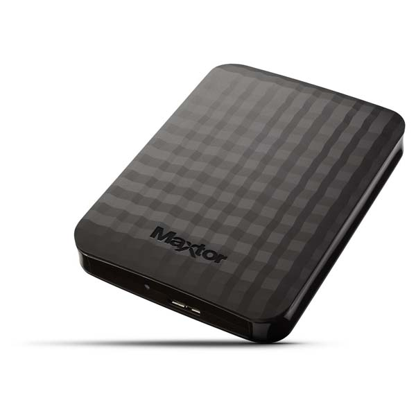 "Prenosný HDD Maxtor M3 Portable 2.5"", 4000 GB, USB 3.0, Black"