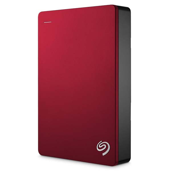 "Prenosný HDD Seagate Backup Plus Port 2.5"", 5000 GB, USB 3.0, Red"