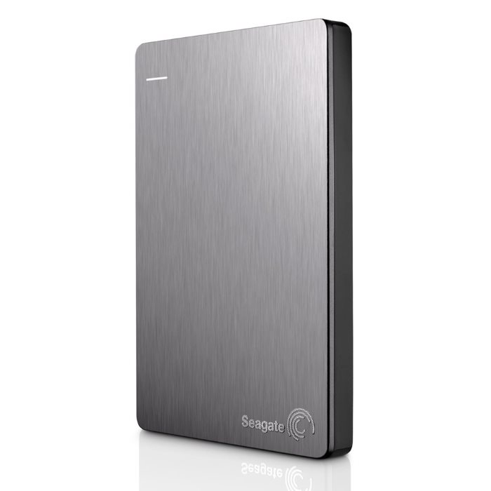 "Prenosný HDD Seagate Backup Plus Slim 2.5"", 1000 GB, USB 3.0, Silver"
