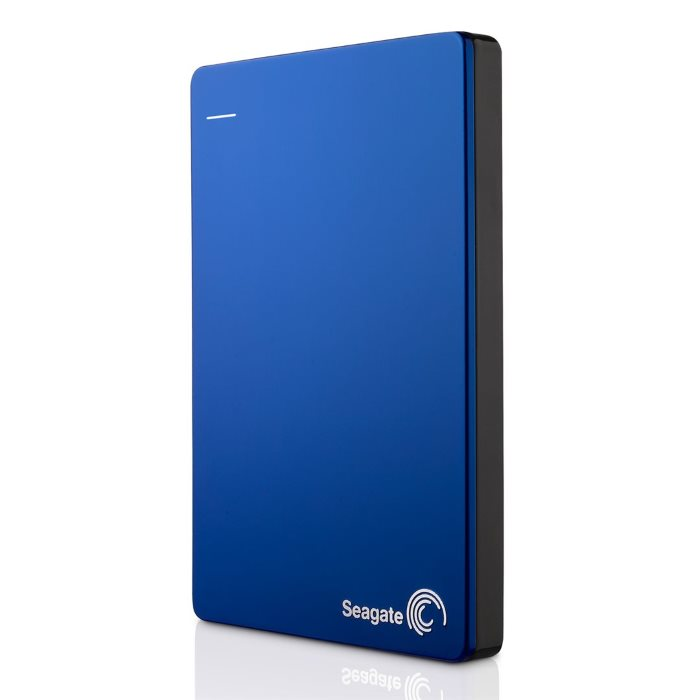 "Prenosný HDD Seagate Backup Plus Slim 2.5"", 2000 GB, USB 3.0, Blue"