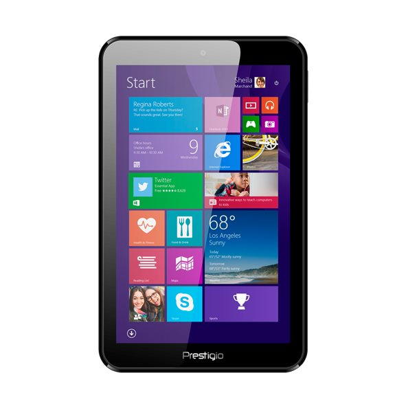 Prestigio MultiPad Visconte Quad - PMP880, Black