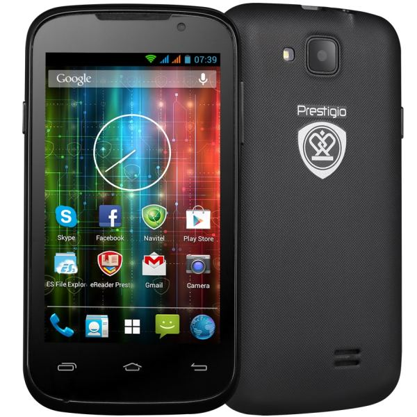 Prestigio Multiphone 3400DUO, Black