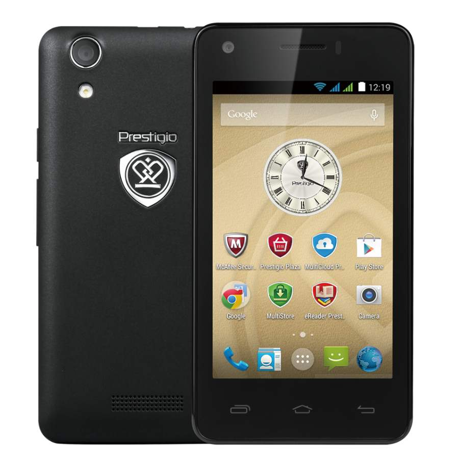 Prestigio MultiPhone 3405DUO, Black
