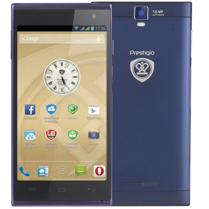 Prestigio MultiPhone 5505DUO, Blue
