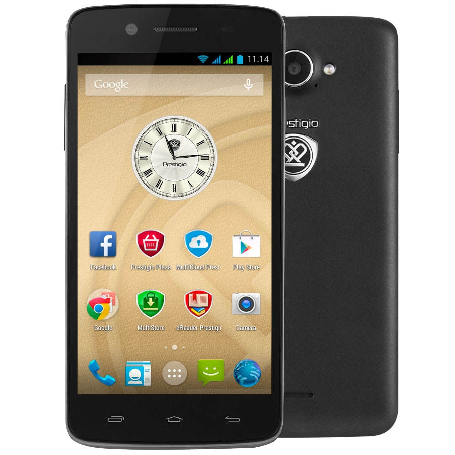 Prestigio MultiPhone 5507DUO, Black