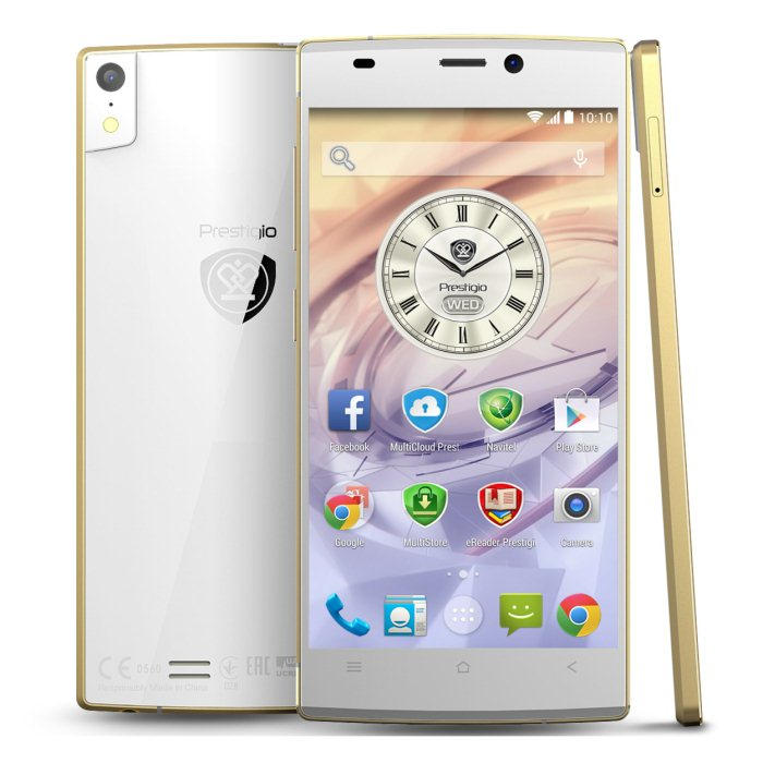 Prestigio Multiphone Grace 7557, White