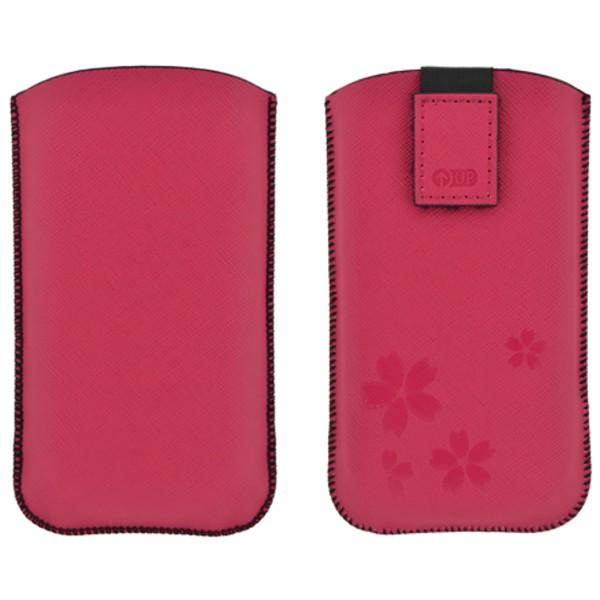 Puzdro 4-OK Case Up Colors Pre Samsung Galaxy S4/S3, HTC One, Ružová