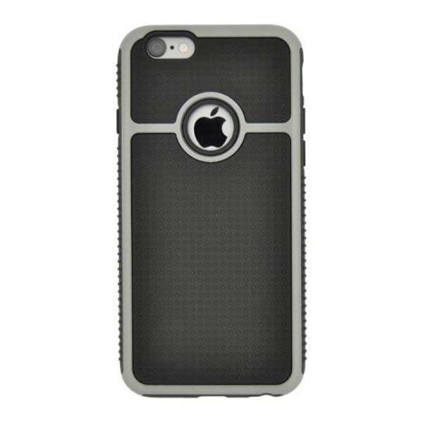Puzdro 4-OK Cover Chrome Dots Pre iPhone 6,Strieborná