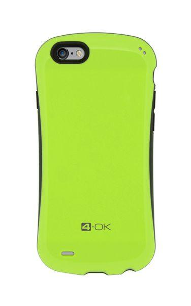 Puzdro 4-OK Curve iPhone 6, Zelené