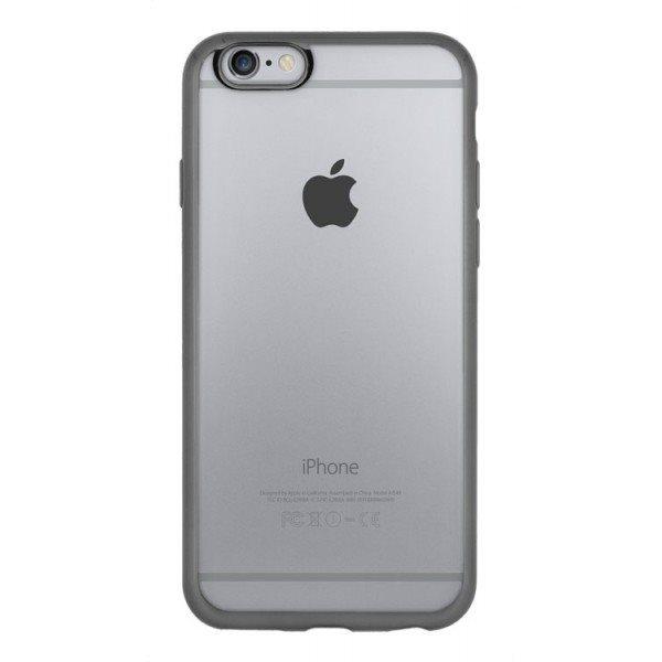 Puzdro 4-OK ELEKTRA TPU pre Apple Iphone 6/6S, Transparentné-šedé